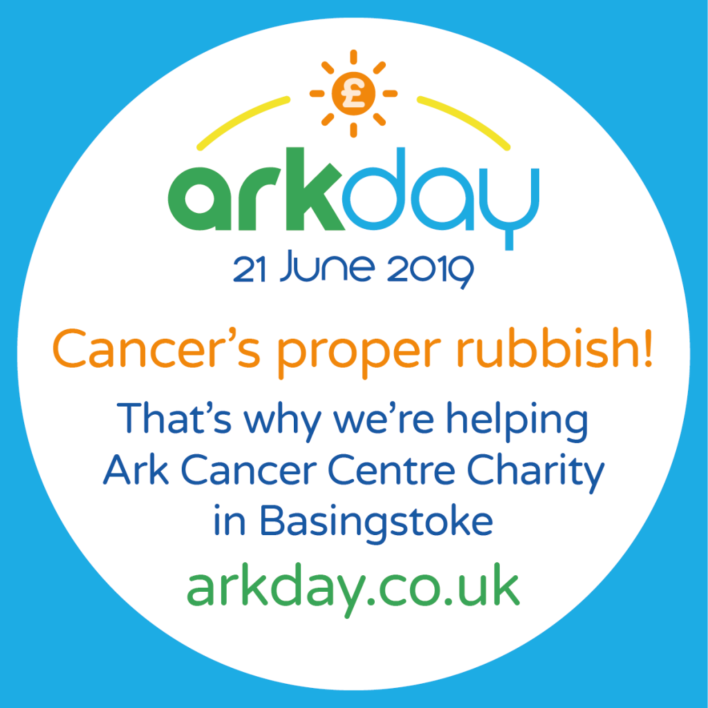 Cancer's Proper Rubbish We're helping