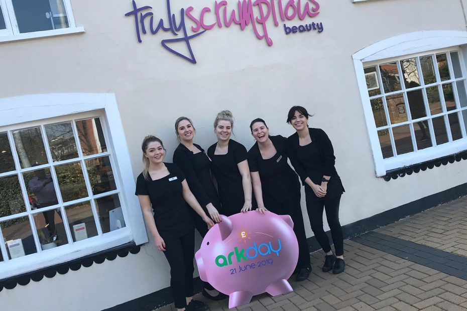 Truly Scrumptious Beauty Fundraising